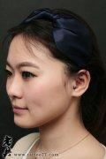 武汉穿孔店:美女耳朵穿孔图片