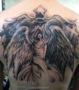 天使纹身图案_老兵武汉纹身店:武汉专业纹身店