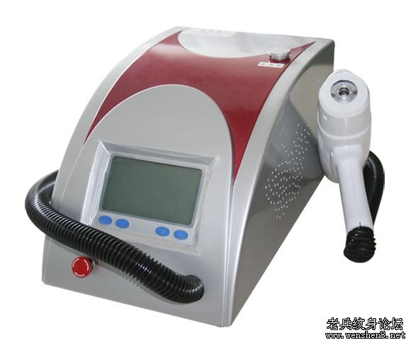 激光洗纹身机