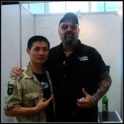 我与国际文身组织tattoos.com创始人Damian先生