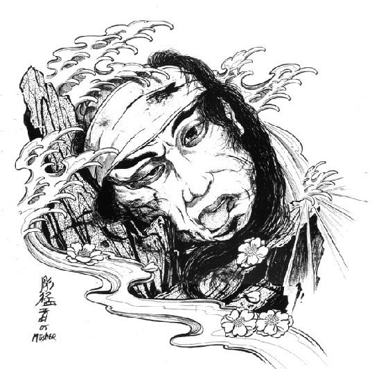 古风女子素描 铅笔画_第4页_图片素材