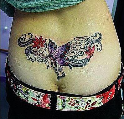 大全|荷花纹身图片|纹身图案吧;