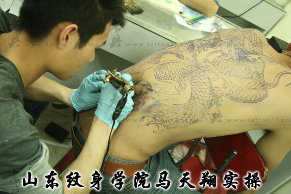 武汉老兵纹身培训学校—学员实操