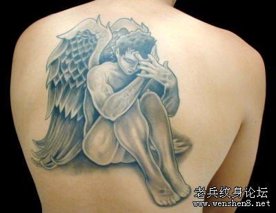 纹在背上的纹身图案_纹身背上纹龙