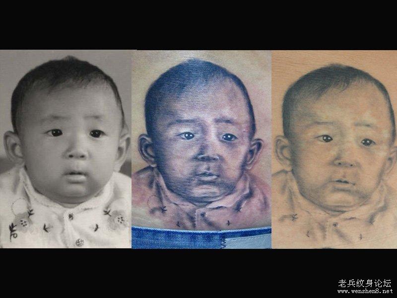 武汉纹身人物肖像相片的做法技巧探讨