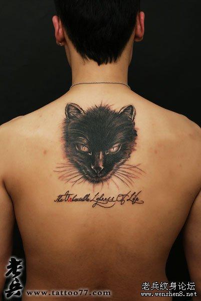 猫咪纹身图案大全