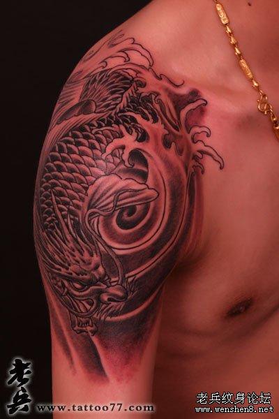 纹身常识  鳌鱼象征放荡
