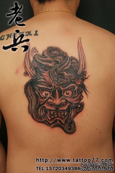 般若在日本纹身图案中经常做为表现的题材,但他的来由是什么呢?