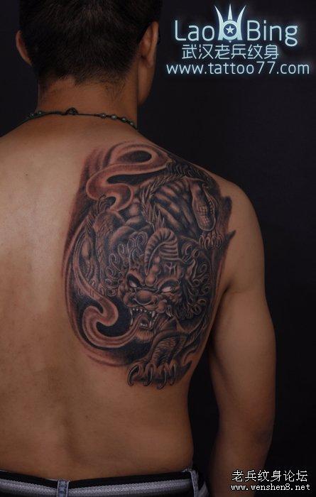 貔貅纹身图案大全 武汉最好的刺青 纹身 店为你讲究招财神