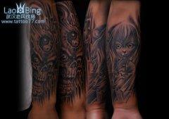 最后更新:2011-10-09 后背守护天使纹身图案作品 最后更新:2011-10-09