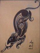 图腾文身图案大全:图腾老鼠纹身图案图片图片