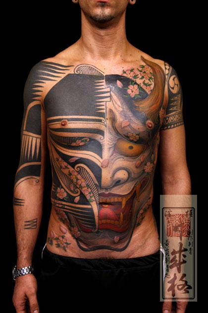 般若纹身图案图片