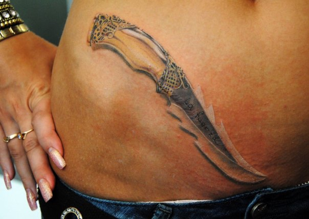 纹身图案大全 武器纹身图案大全图片