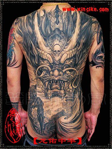 纹身图案大全 满背纹身图案大全