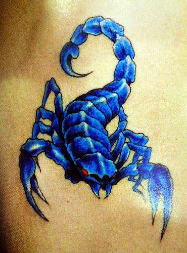 纹身图案大全 蝎子纹身图案大全