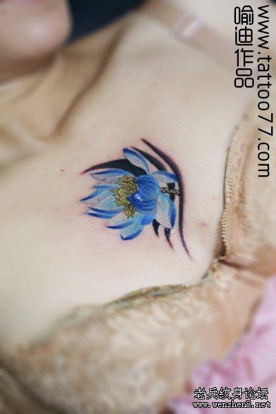 手绘纹身戒指步骤