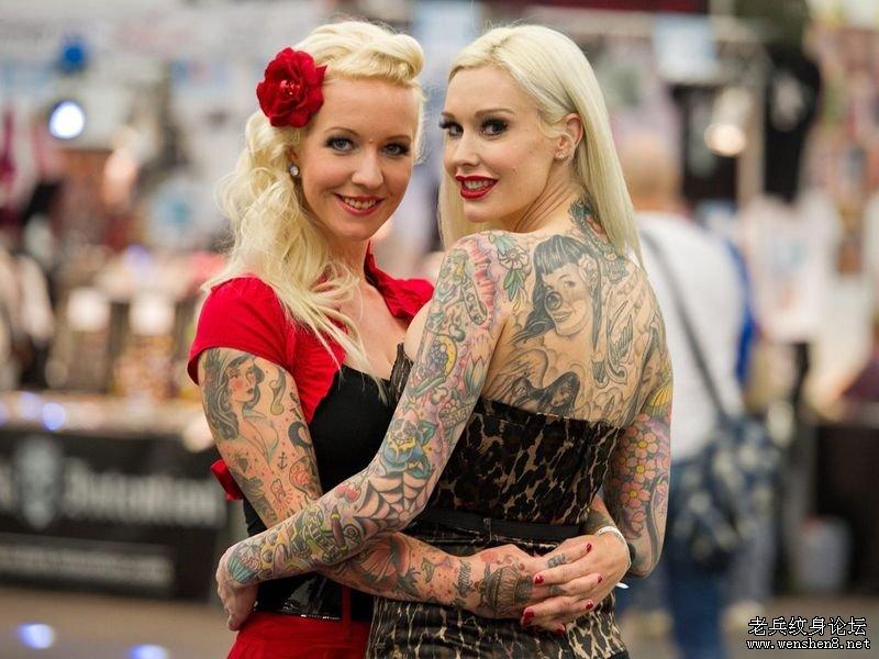 纹身艺术节现场盛况