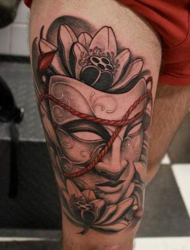背部好看的美人鱼纹身图案         可爱的欧美小恶魔纹身
