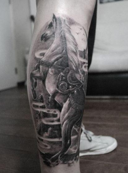 老鼠图腾纹身_小腿龙图腾纹身_莲花图腾纹身手稿图片