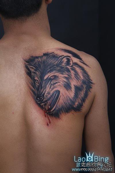 今天我们一起来了解下狼纹身的寓意及含义