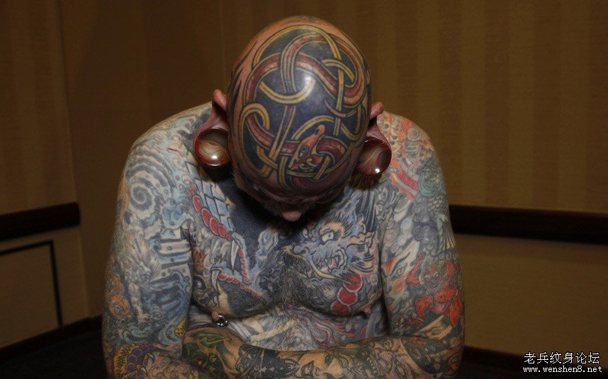 全美纹身爱好者云集美国纹身节(纹身展会)