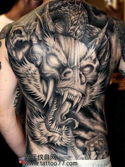 纹身图案大全 龙纹身图案大全