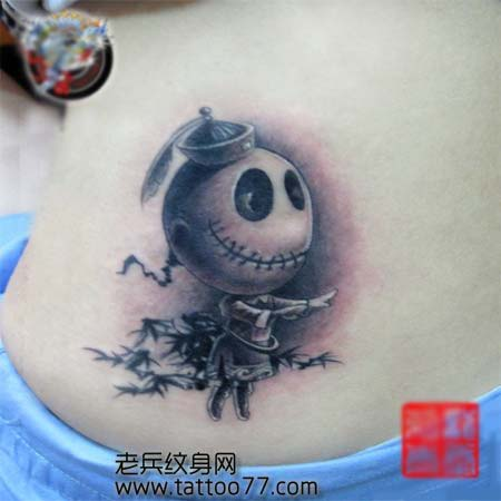 僵尸布偶纹身图案; 僵尸娃娃纹身图案; 纹身图案大全 / 另类纹身图案