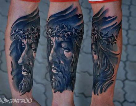 手臂树纹身图案图片