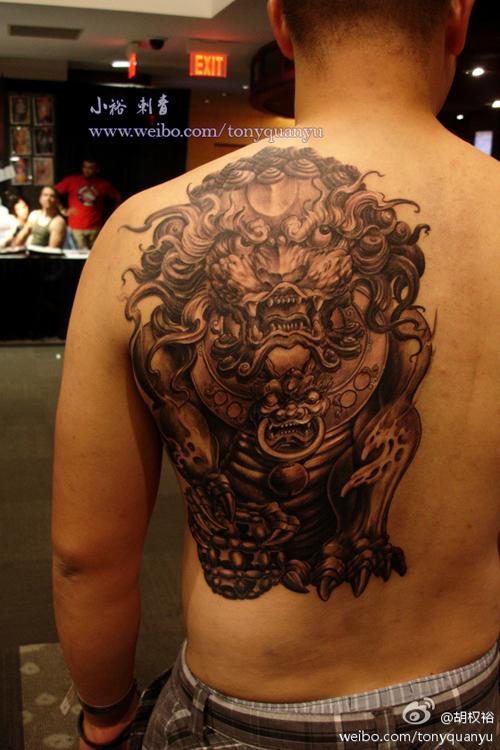 后背纹身图案大全   后背龙纹身图案   狼图片 霸气的 最高清图片