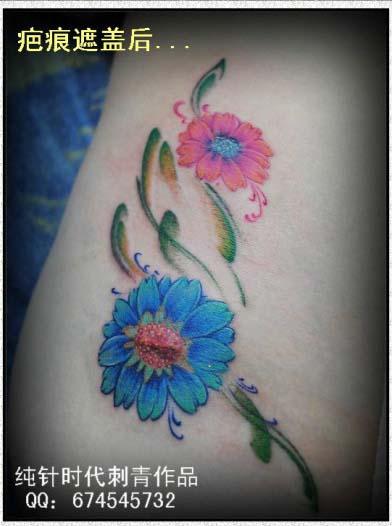 17:30:37 (135x180) 女纹身手稿         一组时尚潮流的小鹿猫头鹰