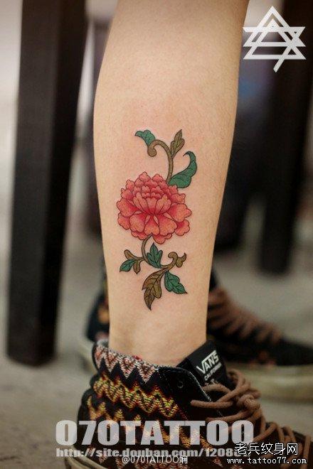 小腿纹身图案英文_小腿纹身图案大全图片_小腿纹身