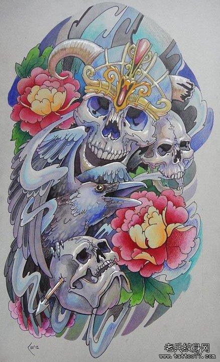 半臂纹身图案大全潮流分享展示