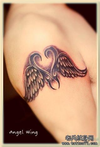 主页 纹身图案大全 翅膀纹身图案大全  ------分隔线图片
