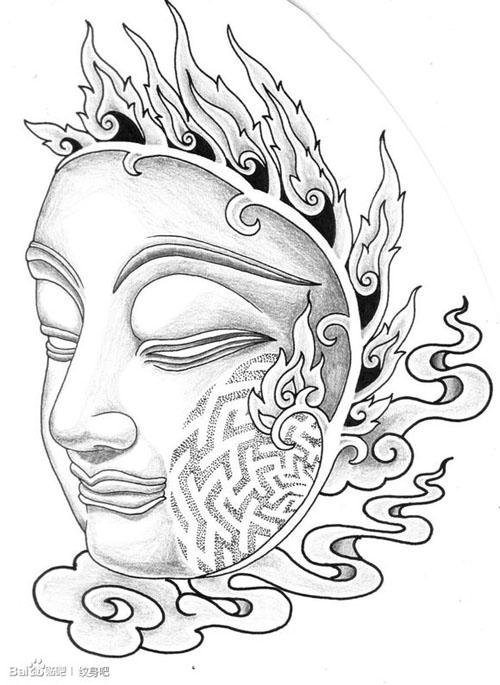 纹身面具 第10张 美拍图