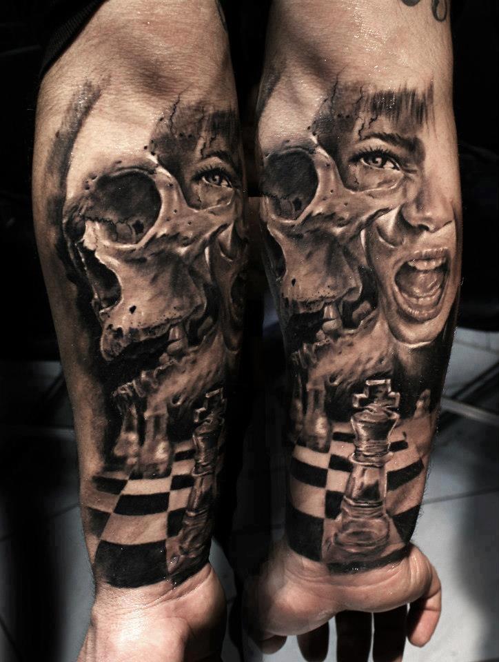 纹身图案大全 欧美纹身图案大全                     分享一款霸气图片