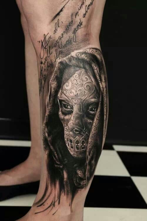死神纹身图案