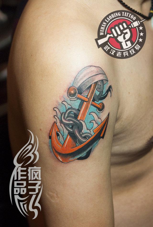 小老虎纹身手稿分享展示