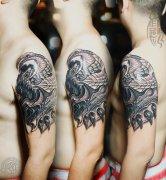 武汉最好纹身店打造的遮盖作品--3D纹身