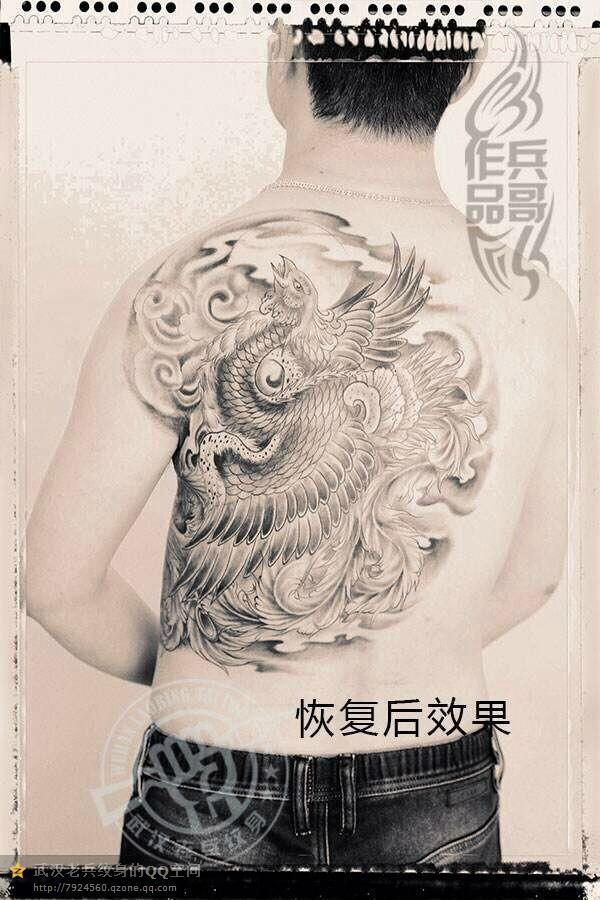 纹身主页 纹身作品集 传统作品