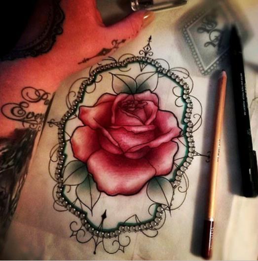 黑灰蛇纹身图案由武汉最好的刺 武汉纹身网提供一款马纹身手稿 半胛龙
