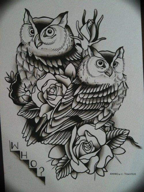 康之园 黑白莲花纹身手稿素材 > 一款灯塔玫瑰花纹身手稿图案  一款图片