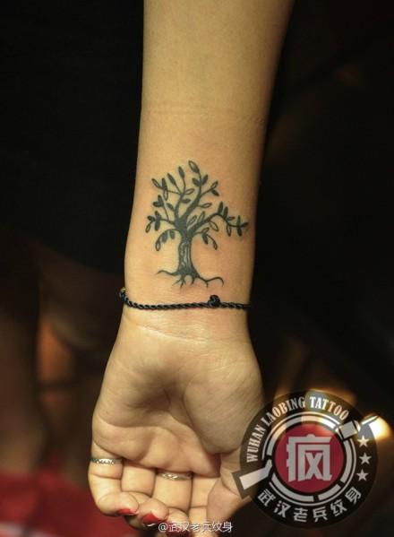 生命之树图腾纹身分享展示