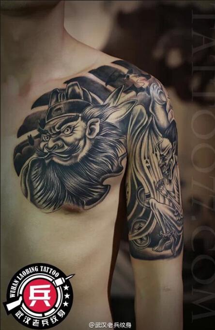 纹身主页 纹身作品集 传统作品  武汉纹身店 纹身图案大全  0 喜欢