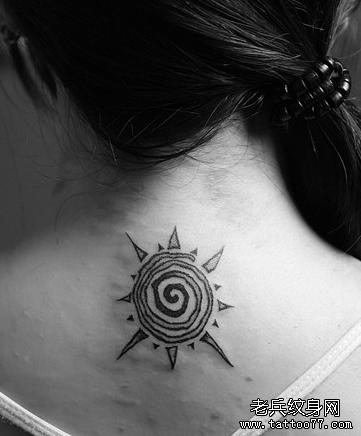 六道后背纹身图案