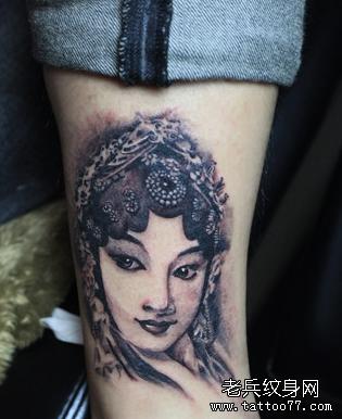 纹身主页 纹身图案大全 肖像纹身图案大全  武汉纹身店       纹身