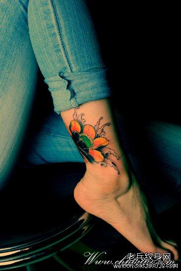 莲花纹身图案大全图片
