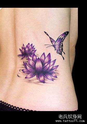 新闻资讯 纹身常识   忍冬:是蔓生植物,忍冬纹即类似忍冬花植物的花纹