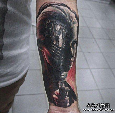 老兵武汉纹身店:武汉专业纹身店 - 提供精品纹身,洗及图片