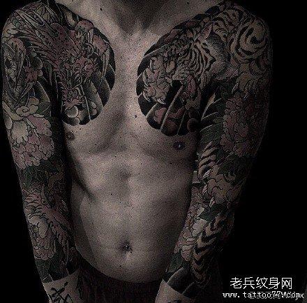 龙纹身图案大全