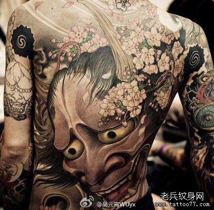 般若纹身图案大全